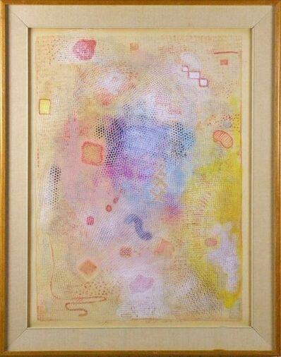 """Robert Natkin, '""""Intimate Lighting"""" 1973 Robert Natkin Mixed Media Painting', 1973"""