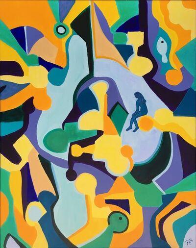 "Jette Bruun, '""Lost In A Puzzle""', 2018"