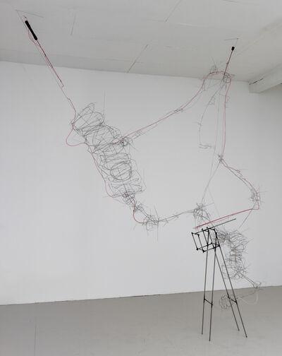 Steve Currie, 'Red Poles', 2014