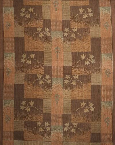 Scandinavian, 'a flat weave mixed wool and jute carpet', Mid-20th Century