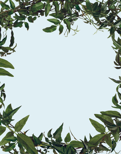 Sarah Charlesworth, 'Leaf Frame', 2002