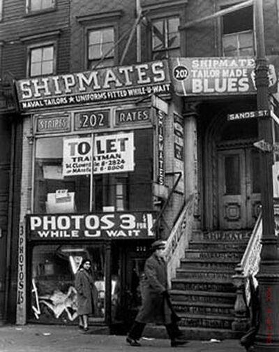 Andreas Feininger, 'Sand Street, Brooklyn, NY', 1946