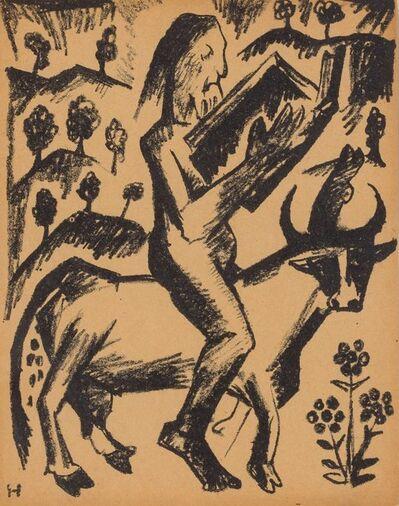 Natalia Goncharova, 'HERMIT', 1913