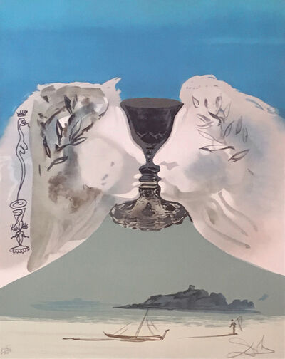 Salvador Dalí, 'Chalice of Love (Ace of Cups)', 1976