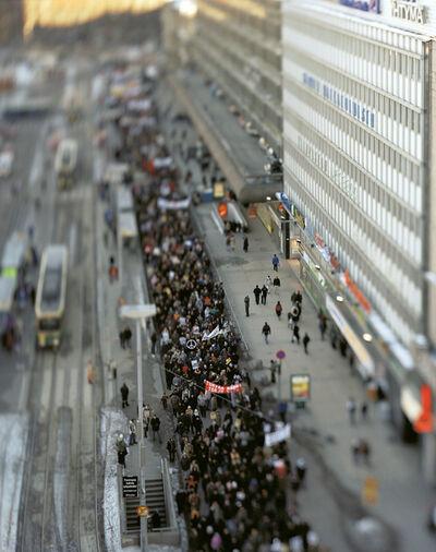 Miklos Gaál, 'Demonstration Day', 2003