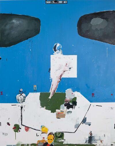 Brian Harte, 'Roi (Blue) ', 2019