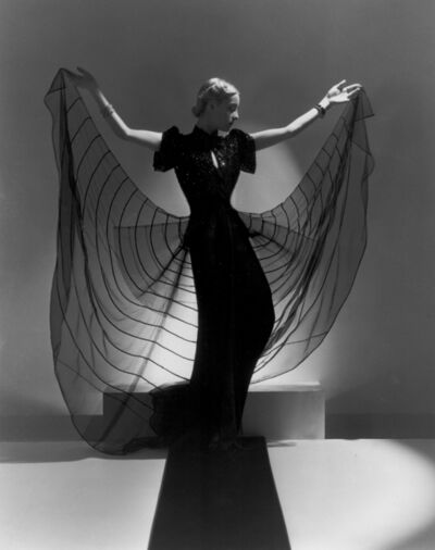 Horst P. Horst, 'Spider Dress: Helen Bennett in an advertisement for Bergdorf Goodman, New York', 1939