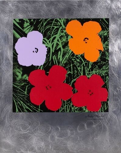 Andy Warhol, 'Flowers 73', 1994