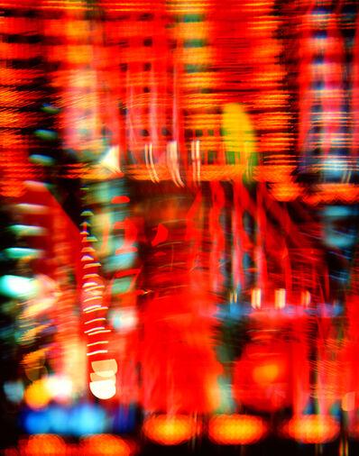 Hideki Kuwajima, 'Under Neon, Osaka 003', 2015