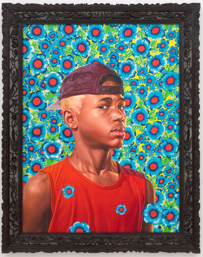 Kehinde Wiley, 'Randerson Romualdo Cordeiro', 2008