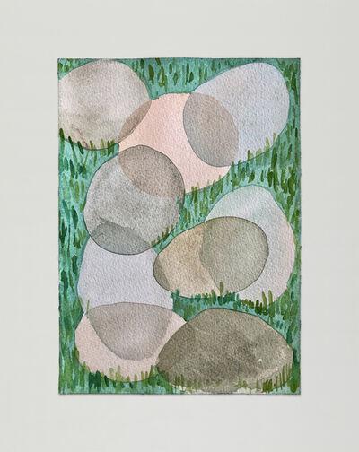 Leda Catunda, 'Pedras', 2019