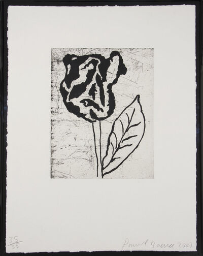 Donald Baechler, 'Flower II', 2007