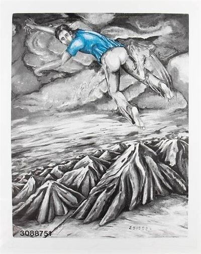 Jonathan Borofsky, 'I Dreamed I Could Fly', 1988-1989