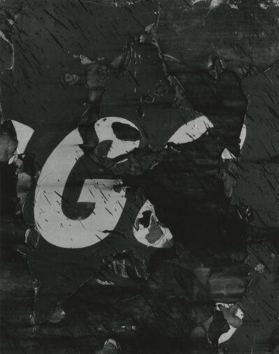 Aaron Siskind, 'Chicago 23', 1957