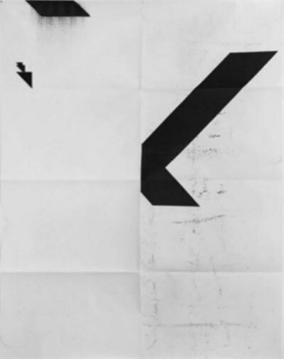 Wade Guyton, 'X Poster (Untitled, 2008, WG2001)', 2016