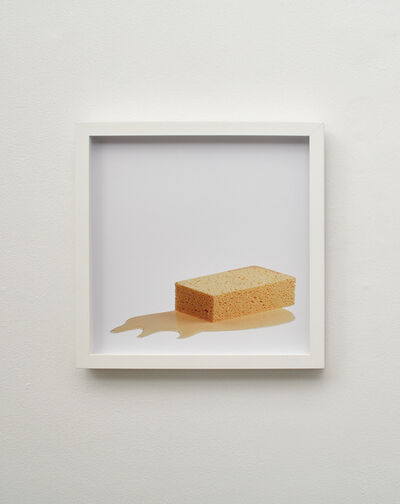 Bettina Hubby, 'sponge puddle', 2015