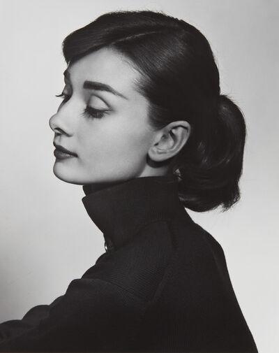 Yousuf Karsh, 'Audrey Hepburn', 1956