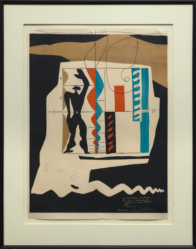 Le Corbusier, 'Le Modulor', 1956