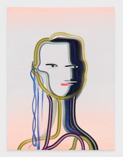 Wanda Koop, 'Heartbeat Bot (Pale Peach)', 2020