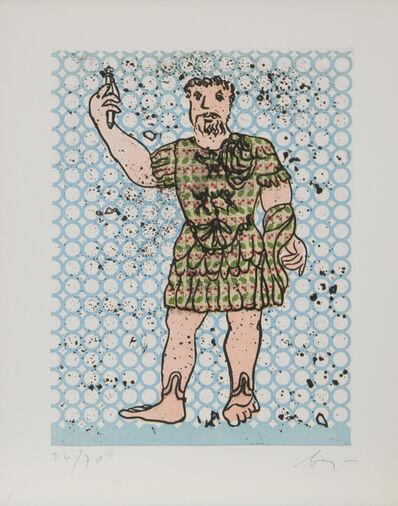 Enrico Baj, 'Sextus Varius Avitus Bassianus Heliogabalus', 1972