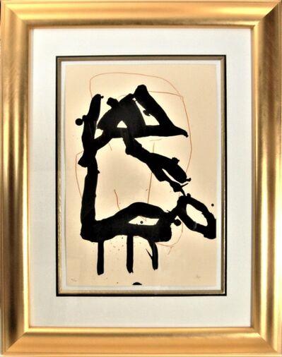 Robert Motherwell, 'Beau Geste For Lucrece', 1989