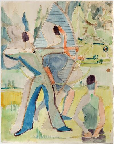 Ernst Ludwig Kirchner, 'Bogenschützen', 1935-1937