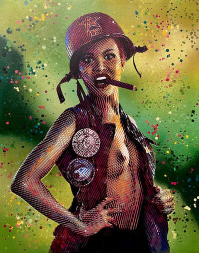 Goldie, 'Cigar Girl', 2020