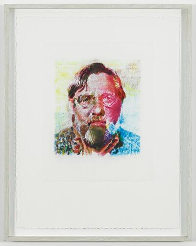Chuck Close, 'John II', 1990