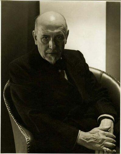 Edward Steichen, 'Luigi Pirandello', 1935