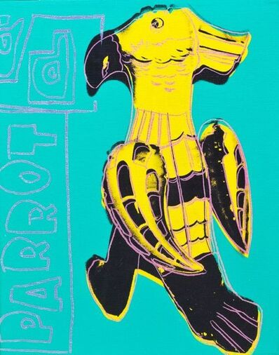 Andy Warhol, 'Toy Painting, Parrot', 1983