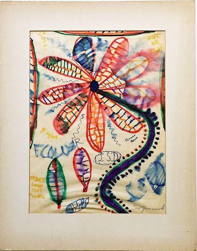 Taro Yamamoto, 'Flower Power', ca. 1970