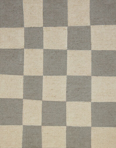 Antonio Ballester Moreno, 'Untitled (Grey Chess Pattern)', 2016