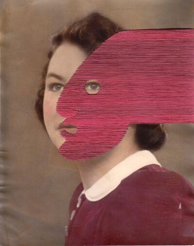 Maurizio Anzeri, 'Untitled (pink)', 2019