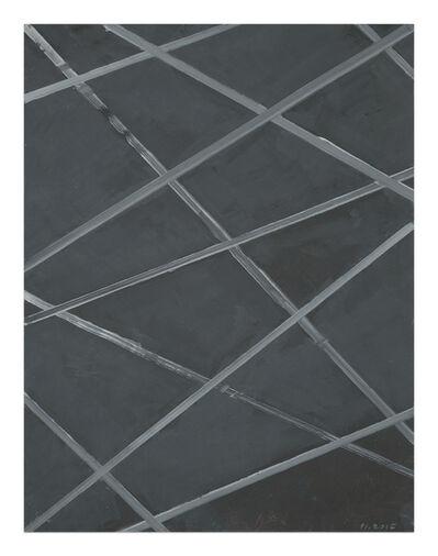 Pierre Haubensak, 'Untitled (Crosslines)', 2015