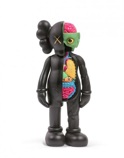 KAWS, 'Companion Flayed Black', 2016