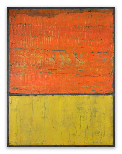 Pierre Auville, 'Orange & Jaune', 2015