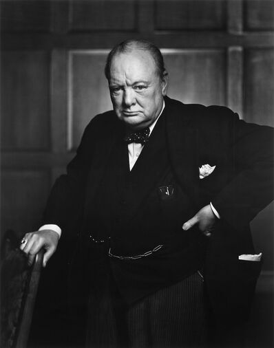 Yousuf Karsh, 'Winston Churchill', 1941