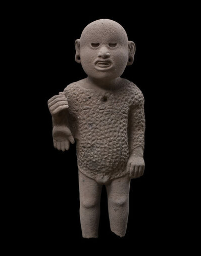 'Sculpture representing the God Xipe Totec Aztec, Mexico', 1300-1521 A.D.