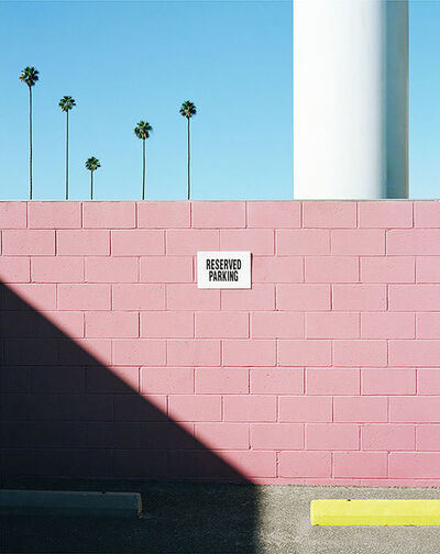 George Byrne, 'East Hollywood Car Park', 2016