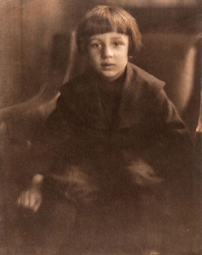 Heinrich Kühn, 'Portrait of Hans Kühn', c. 1905