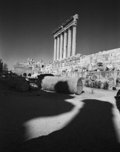 Don McCullin, 'The Temple of Jupiter, Baalbek, Lebanon', 2008