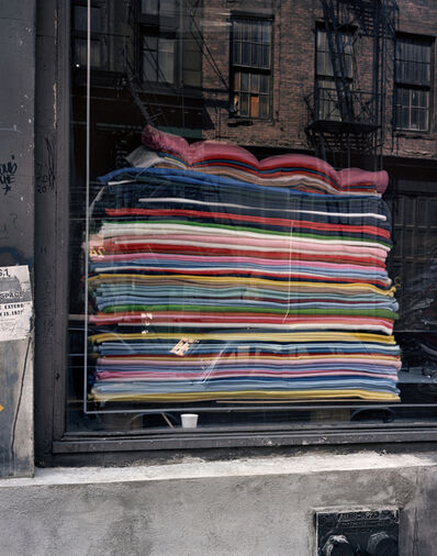 Wayne Sorce, 'Blankets, New York', 1986