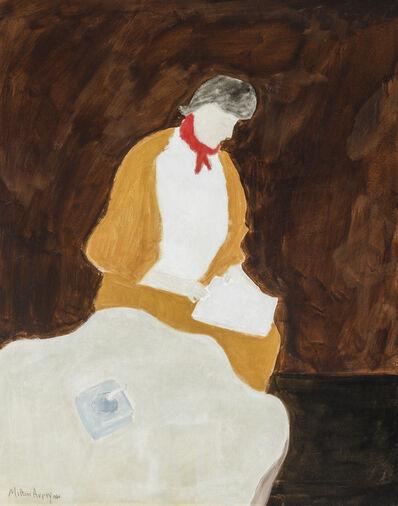 Milton Avery, 'Red Kerchief', 1960