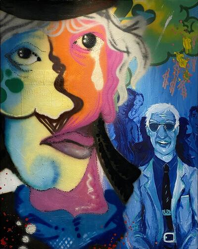 Chris DAZE Ellis, 'The trial ofd John Delorean', 1984