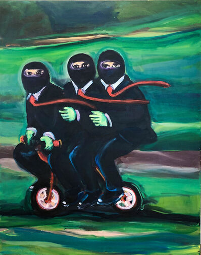 Yassine Balbzioui, 'Caravan on the Green Hill', 2019