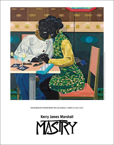 Kerry James Marshall, 'Club Couple (Exhibition poster)', 2017