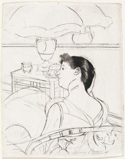 Mary Cassatt, 'The Lamp', ca. 1891
