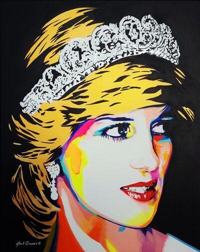 Jack Graves III, 'Princess Diana Icon IV', 2020