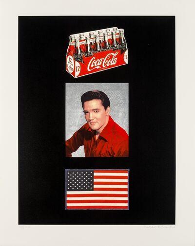 Peter Blake, 'American Trilogy', 2012