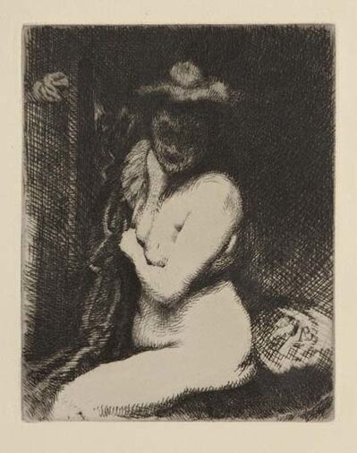 Albert Besnard, 'Etude de nu / La toilette (The Bath)', 1905